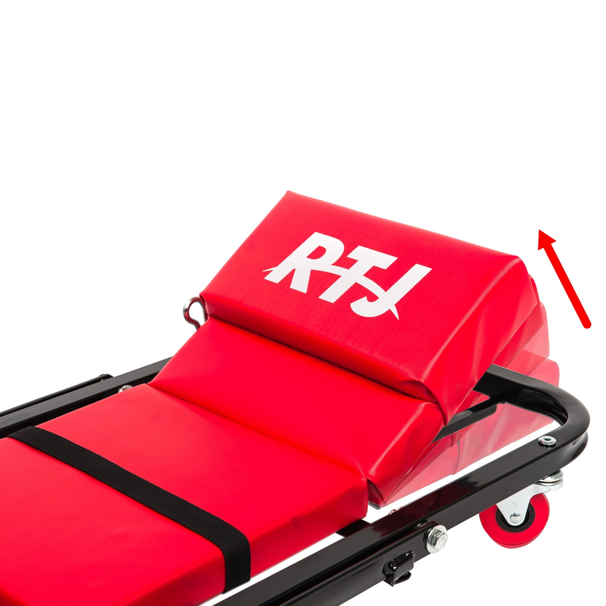 RTJ 47 Inch N-Creeper Seat with Adjustable Headrest, Red by RTJ (Image #3)