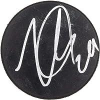 $96 » Nathan MacKinnon Signed Hockey Puck BAS Beckett Auto Avalanche - Autographed NHL Pucks
