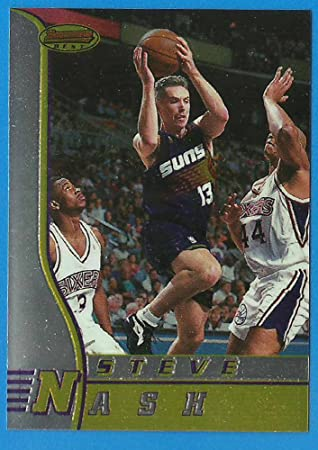 pretty nice a6a53 a5f4d 1996 - 97 Bowman's Best STEVE NASH Rookie Basketball Card RC ...