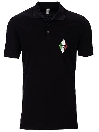 6d7ec01e612f Moschino Flag Gym - Polo Shirt - Schwarz  Amazon.de  Bekleidung