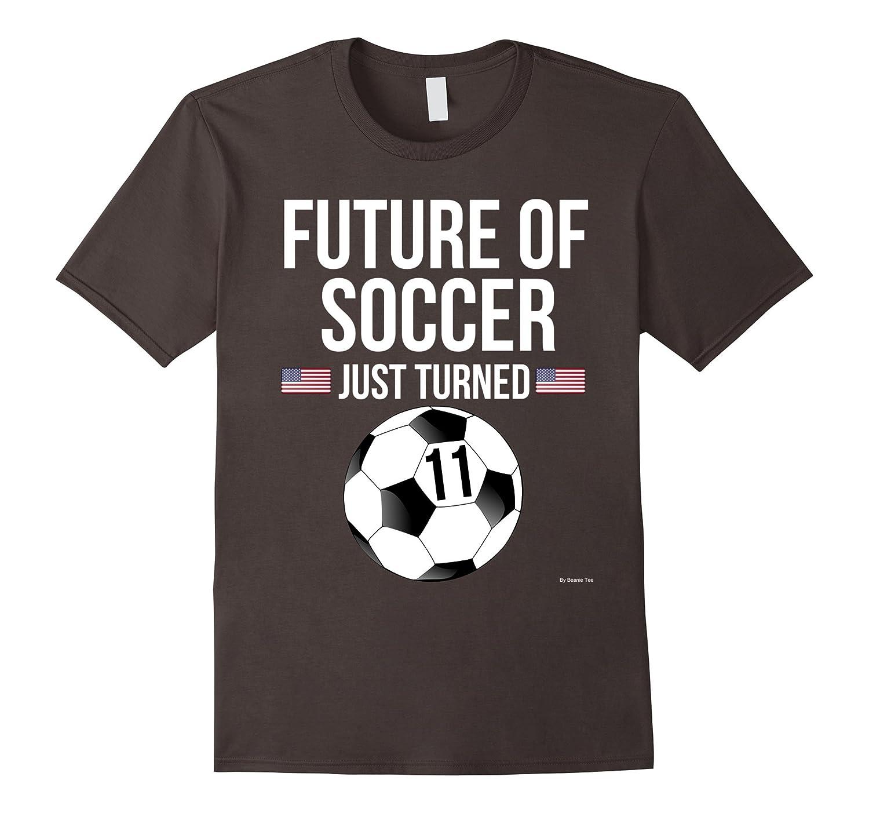 sc 1 st  Teevkd.com & 11th Birthday Soccer T Shirt 11 Year Old Birthday Gift-Teevkd ...