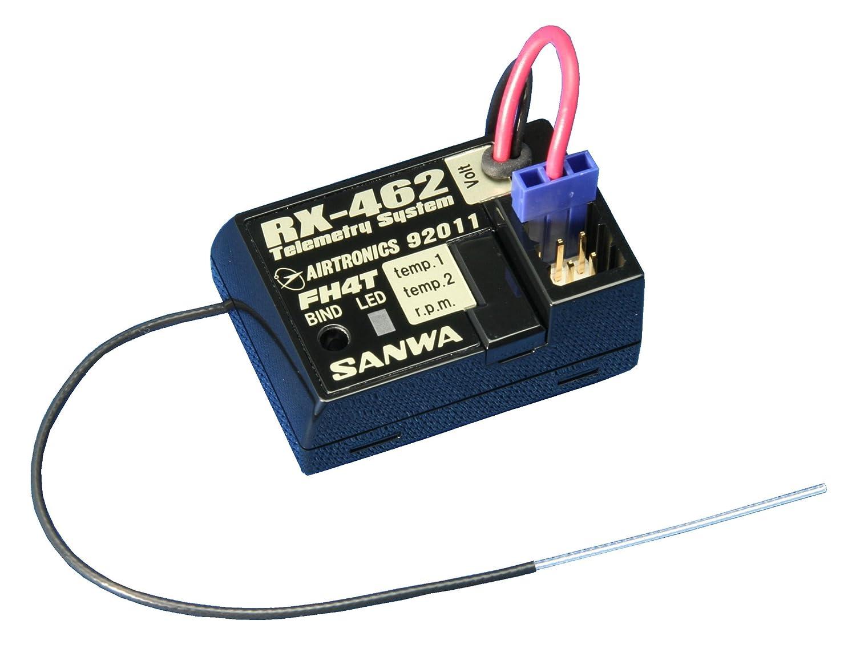 超人気新品 三和電子機器 B005PUTH4K RX-462 (電動カー向け) (電動カー向け) 2.4GHz-4ch FHSS4 107A41091A テレメトリーシステム搭載 水上陸上用 107A41091A B005PUTH4K, 金物広場 みなと屋:968522b5 --- diceanalytics.pk