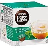 Nescafé Dolce Gusto Kapseln, Marrakesh Style Tea, Grüntee mit Pfefferminze, 48 Kapseln für 48 Getränke