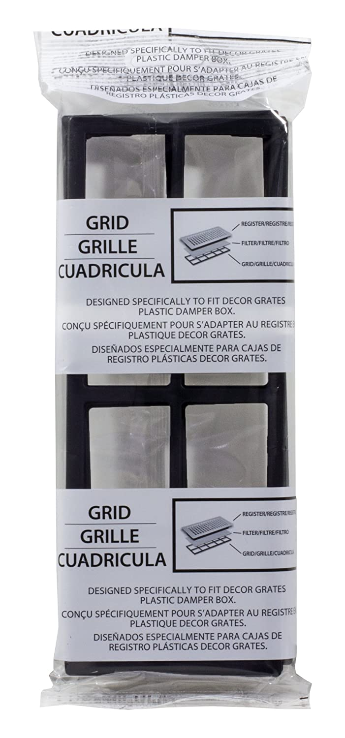 Decor Grates FRP410 Pristene Air Filter Retainer For Decor Grates Registers, 4