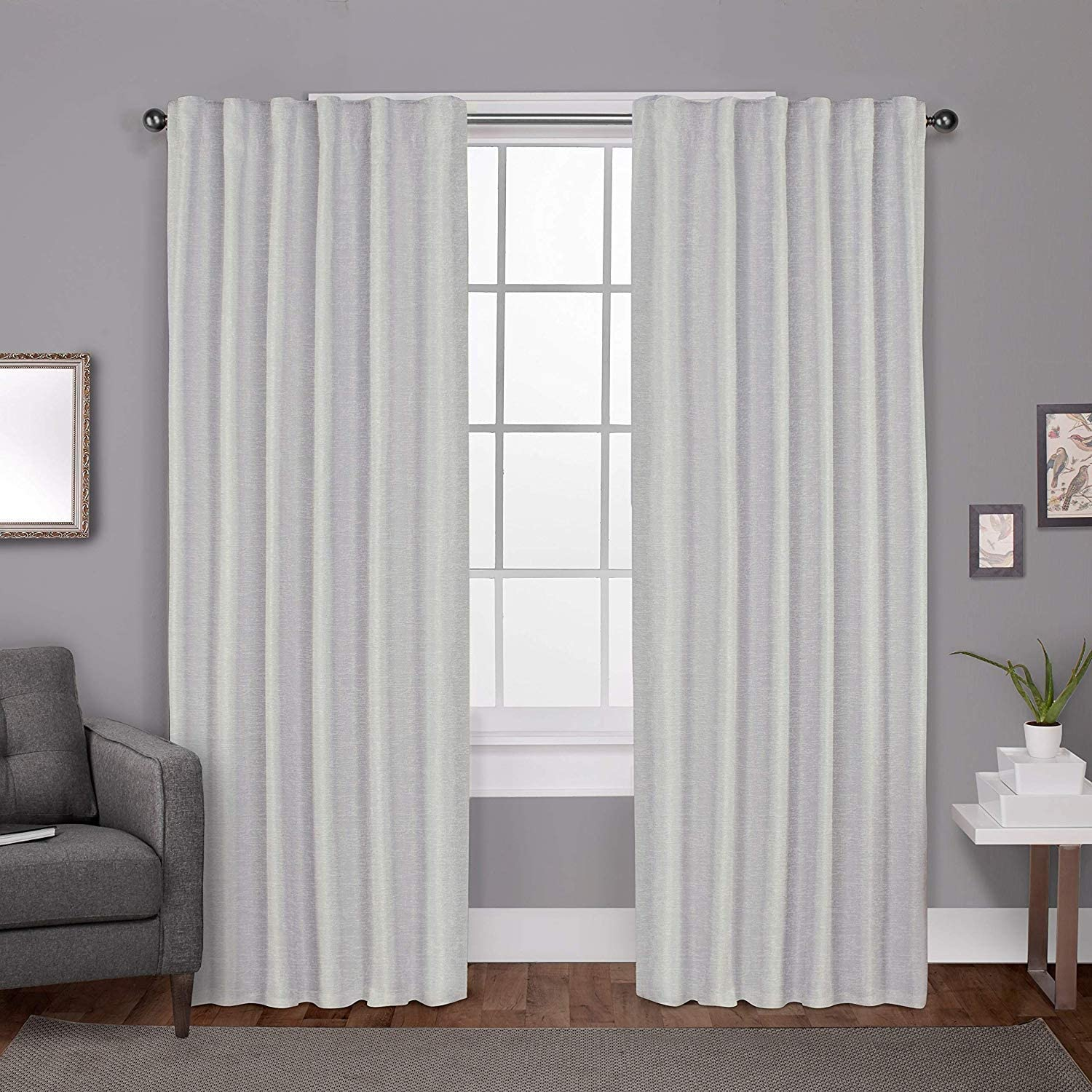Amazon Com Magic Drapes Window Curtains For Office Door Windows Nursery Thermal Blackout Energy Saving Sound Block Curtain Hooks Rings Grey Curtains For Room Divider Dividing Rooms Hall 42x45 Light Grey Home Kitchen,Farmhouse Front Door Wreath Ideas