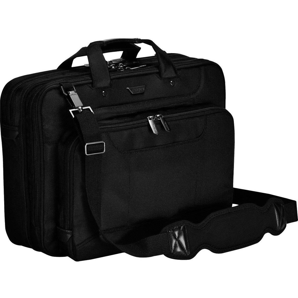 Targus Corporate Traveler Checkpoint-Friendly Laptop Bag for 16-Inch Laptops, Black (CUCT02UA15S)