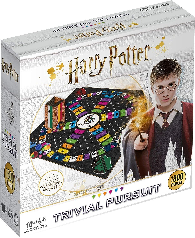 Harry Potter Trivial Pursuit Xl Quiz Mit 1800 Fragen Rund Um Die Filme Gesellschaftsspiel Familienspiel Wissensspiel Amazon De Spielzeug