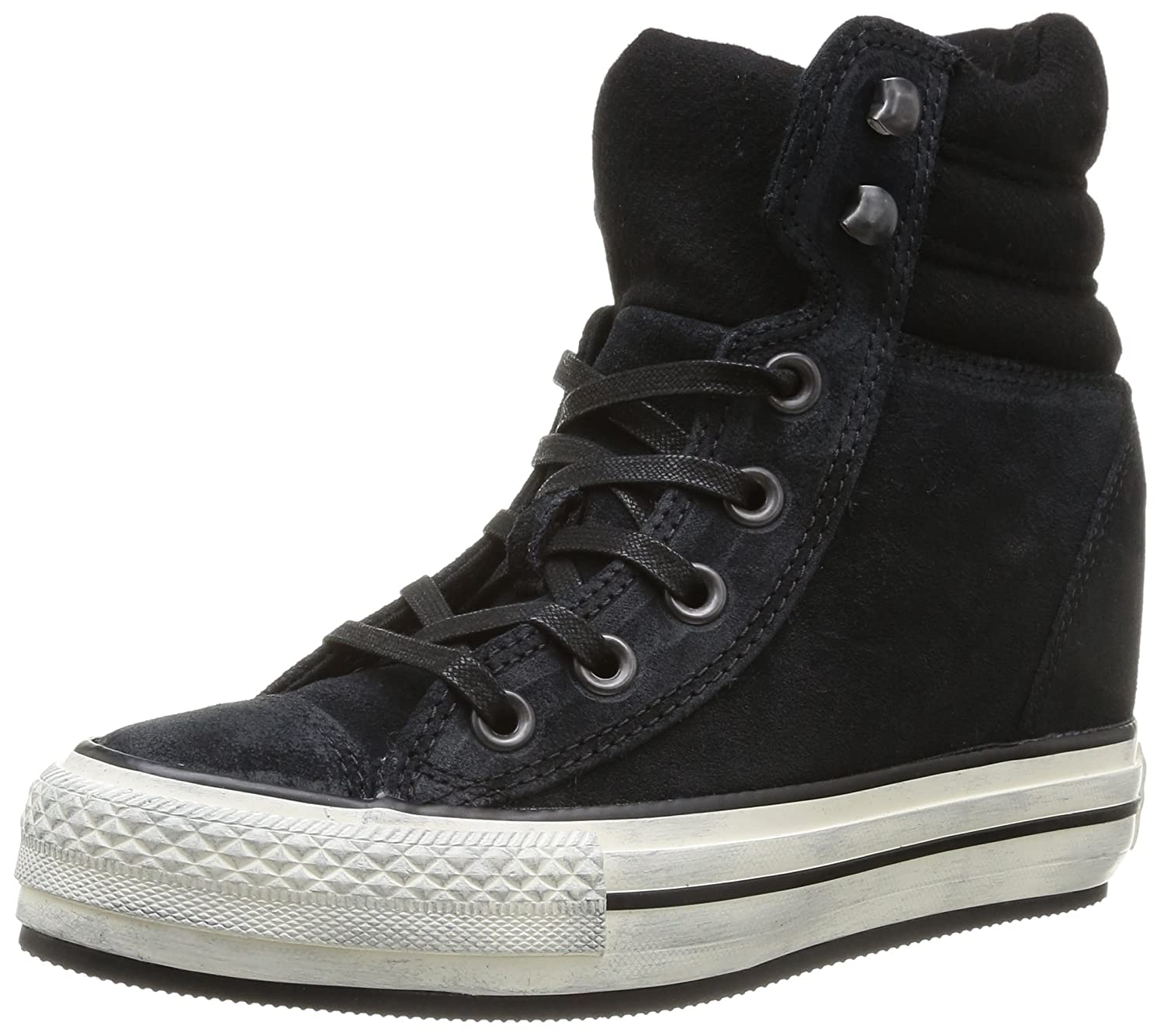 df740f38c61fd Converse Chuck Taylor All Star Hi Shoes - for Women Black Size  8   Amazon.co.uk  Shoes   Bags