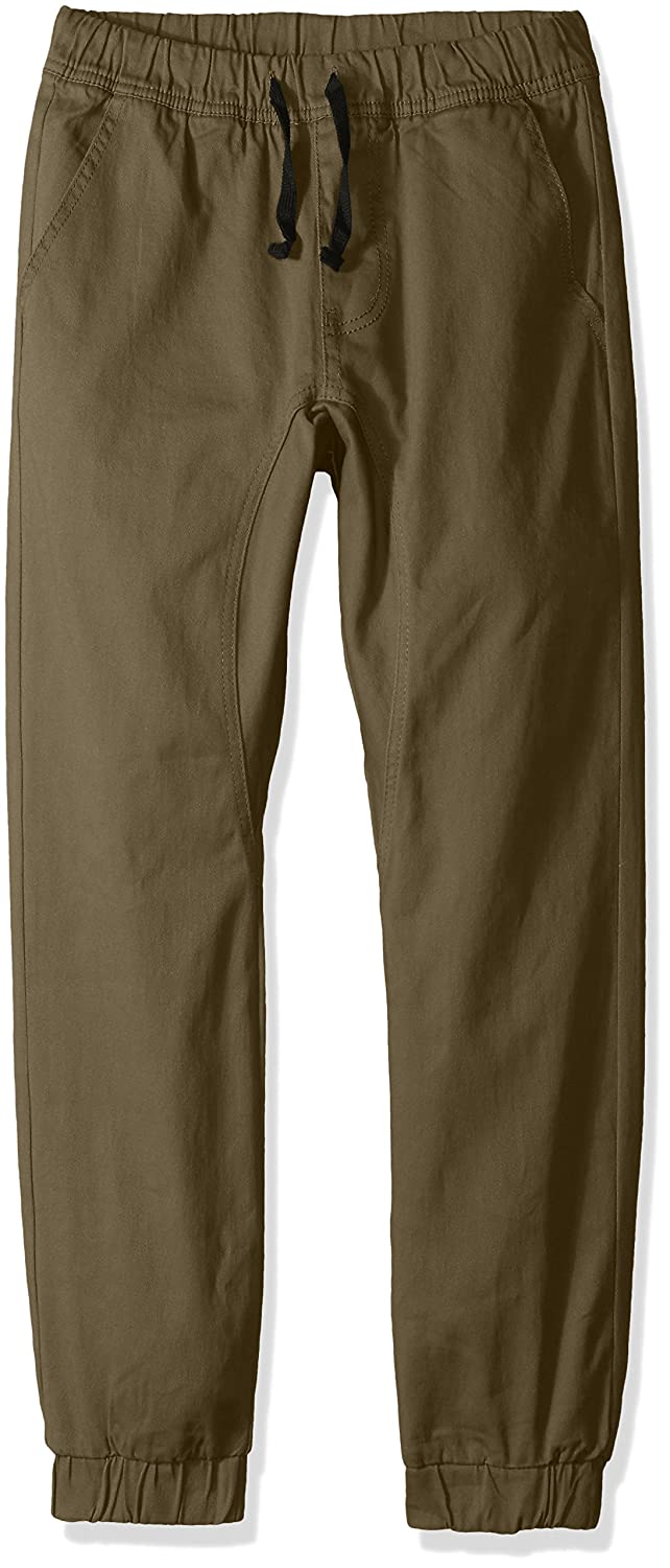 Southpole Big Boys' Jogger Pants in Basic Stretch Twill Fabric