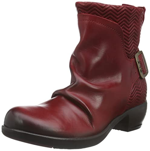 Fly London Melb687fly, Botas Chukka para Mujer, Rojo (Red 003), 36 EU: Amazon.es: Zapatos y complementos