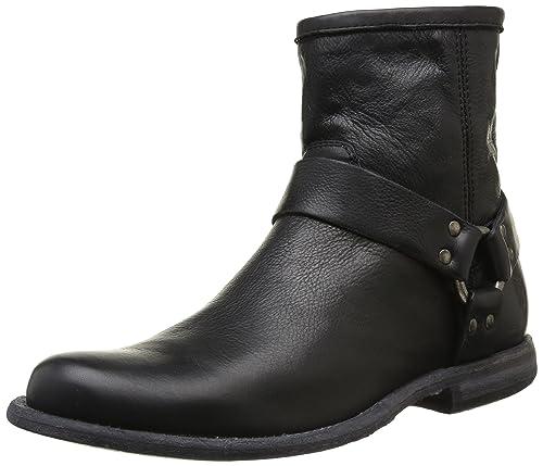 Philip Frye Harness, Zapatillas de Deporte de Hombre (Blk), 7,5, Color Negro: Amazon.es: Zapatos y complementos