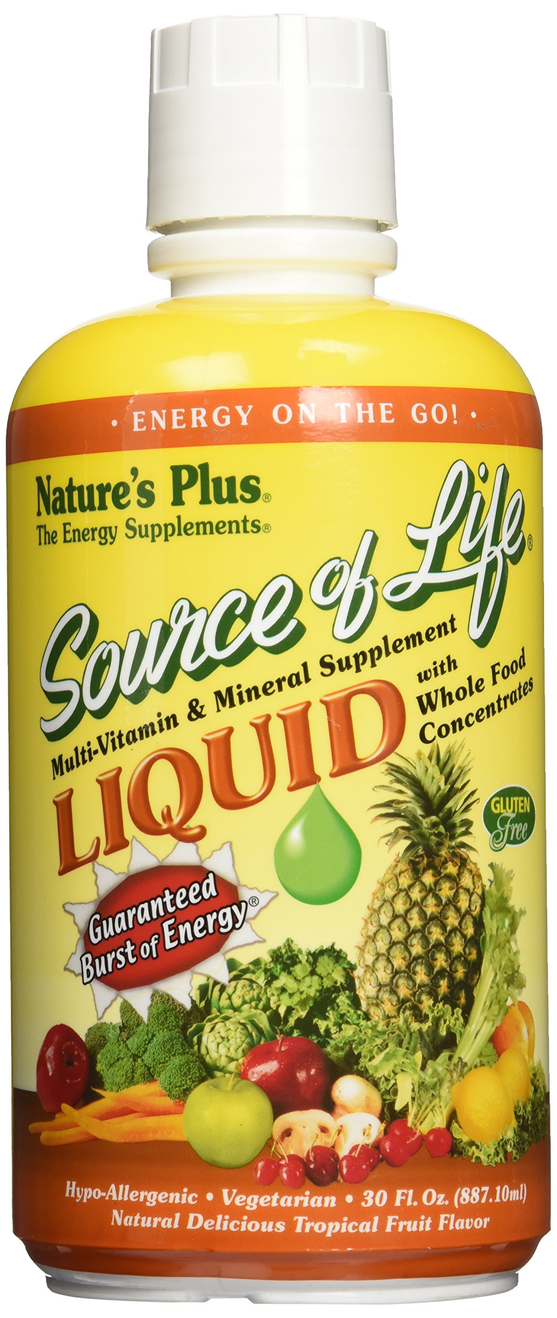 Nature's Plus Source of Life Liquid, 30 Ounce
