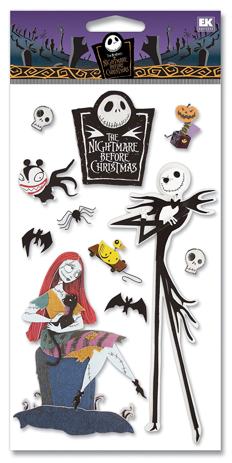 Amazon.com: Disney Nightmare Before Christmas Dimensional Sticker