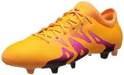 buy popular 524e5 0da16 adidas X 15.2 FG AG, Chaussures de Football Homme, Orange Noir