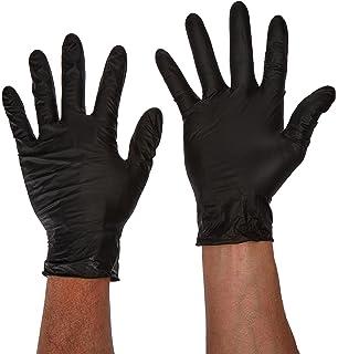 Black Lightning Powder-Free Nitrile Gloves 100 Pack Large 6.5 Mil Thickness BLL