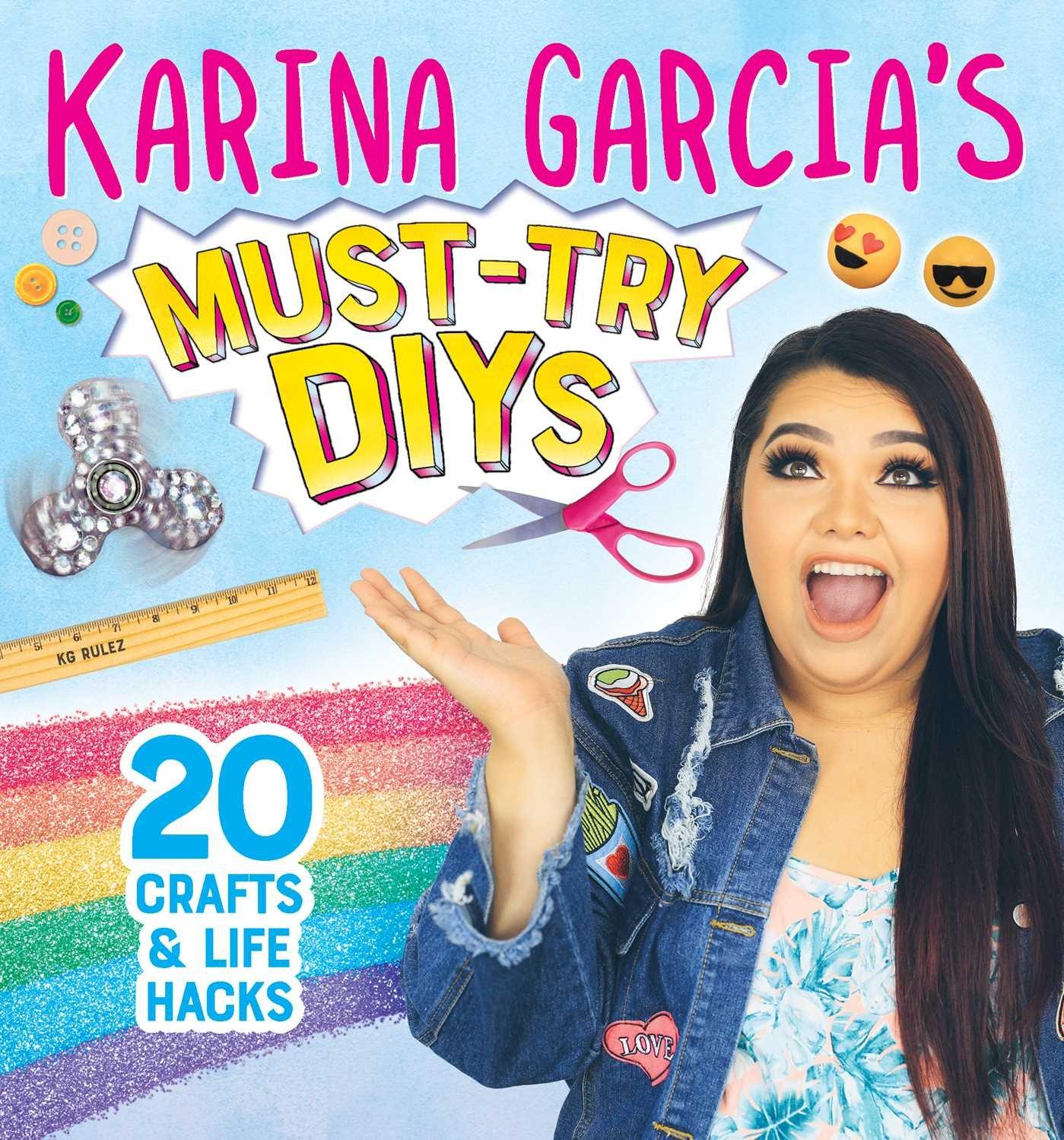 KARINA GARCIAS MUST-TRY DIYS: 20 Crafts & Life Hacks: Amazon.es: Garcia, Karina: Libros en idiomas extranjeros