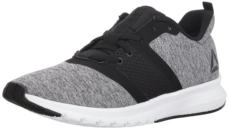Reebok Hommes's Print Lite Rush FonctionneHommest chaussures, noir blanc, 7.5 M US