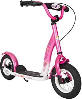 BIKESTAR Original Safety Pro Sport Push Kick Scooter Kids with Brakes, Mudguard and air Tires