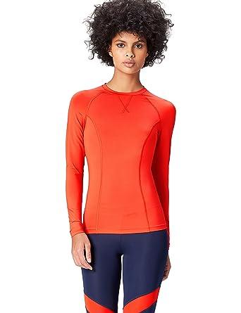 Activewear Top de Sport Manches Longues Femme  Amazon.fr  Vêtements et  accessoires 44783c72138
