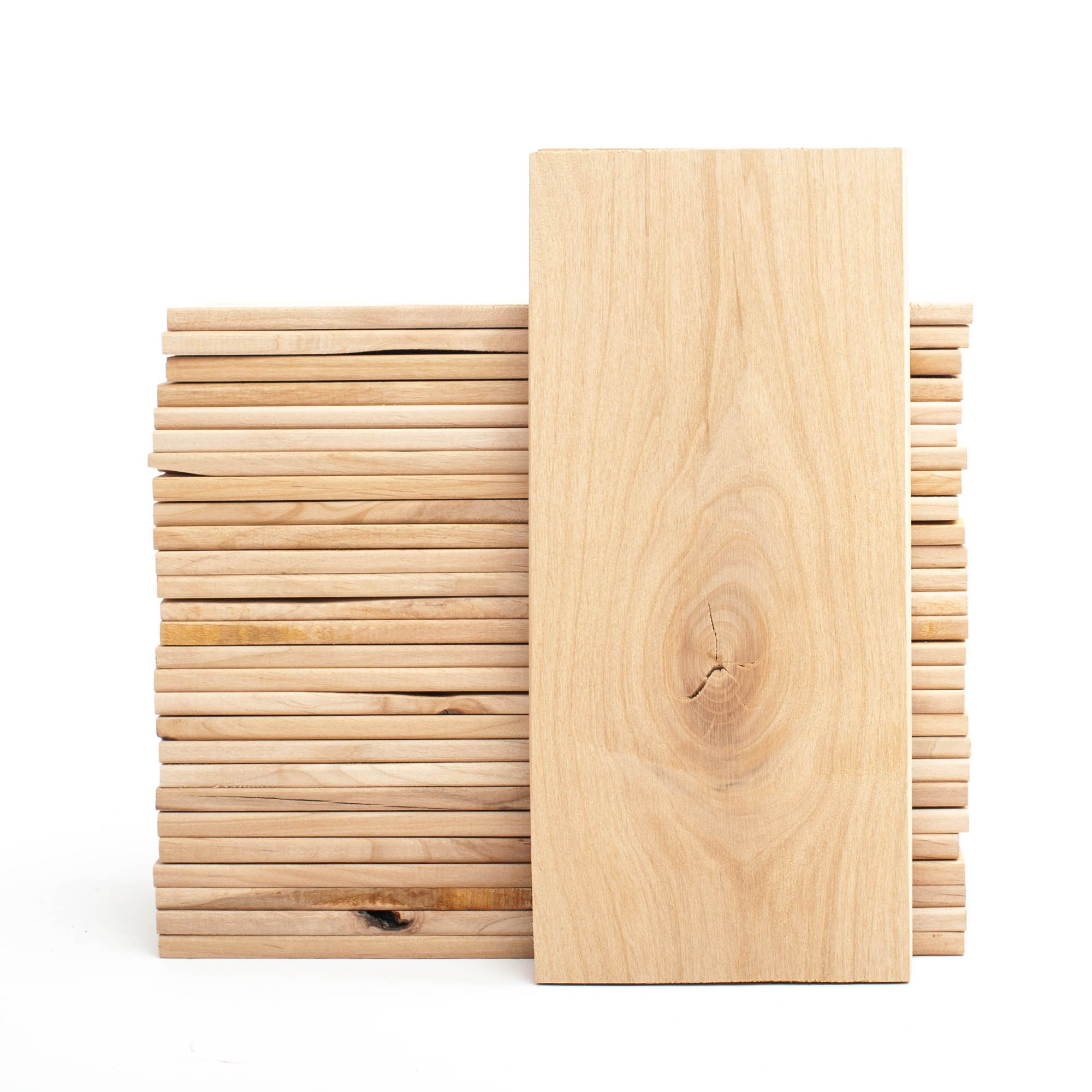 Alder Grilling Planks 30-Pack for Cooking White Fish, Vegetables, Pork & Chicken - Size for 2-4 Servings (5''x11'') - Pacific Alder by Wood Fire Grilling Co. (Image #2)