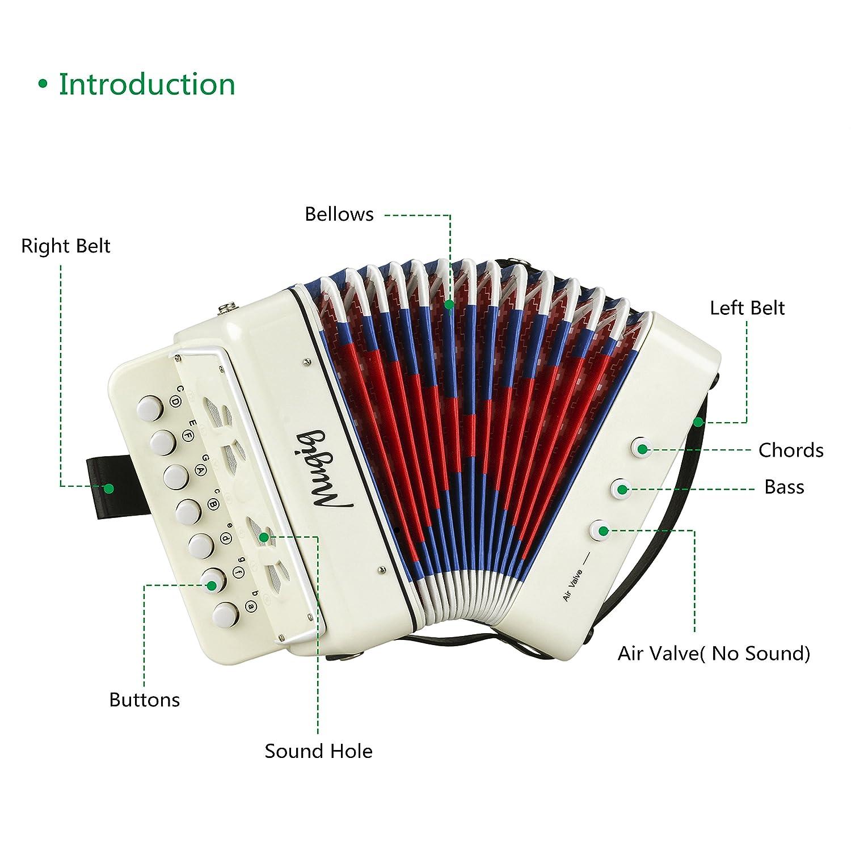 Amazon.com: Mugig Accordion Kid's Accordion Solo and Ensemble ...