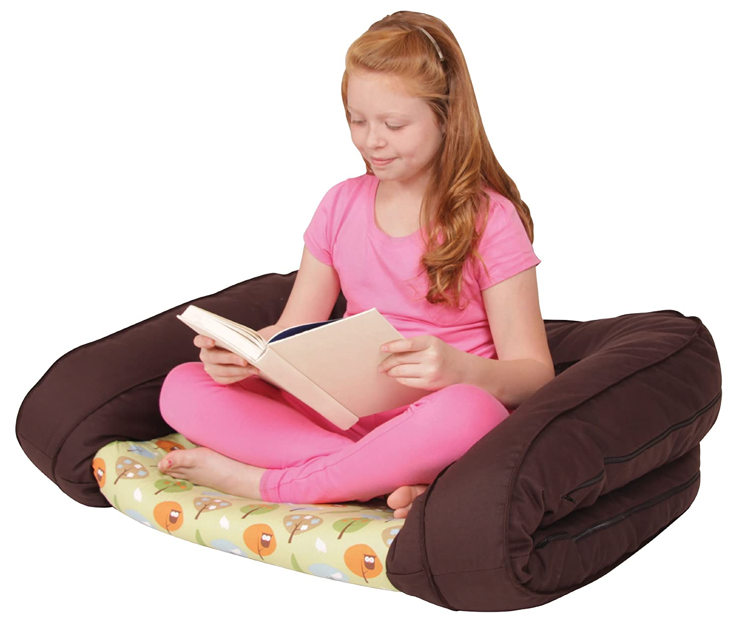 Leachco BumpZZZ Travel Bed Brown//Green Forest Frolics