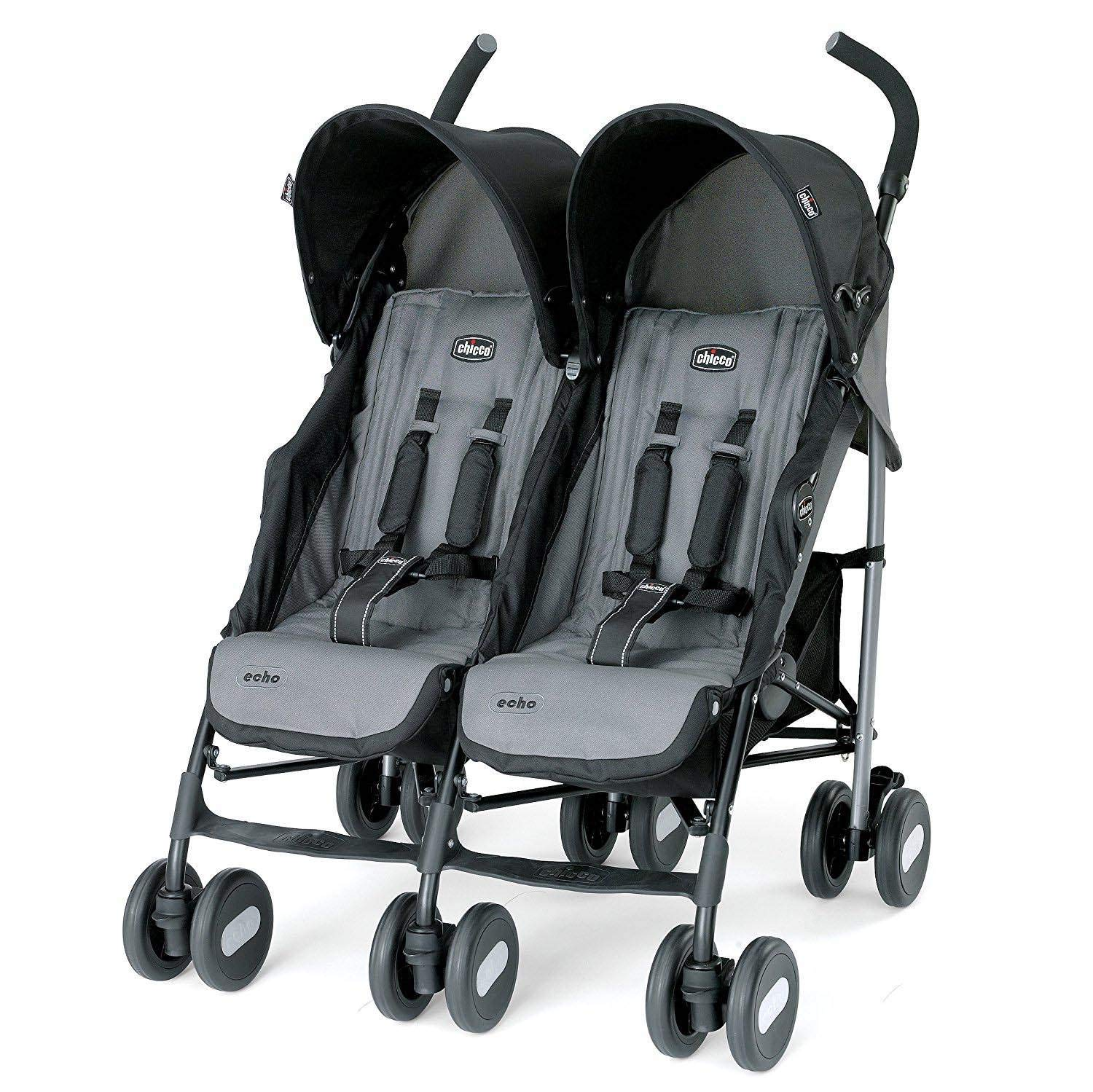 Chicco Echo Twin Stroller, Coal by Chicco
