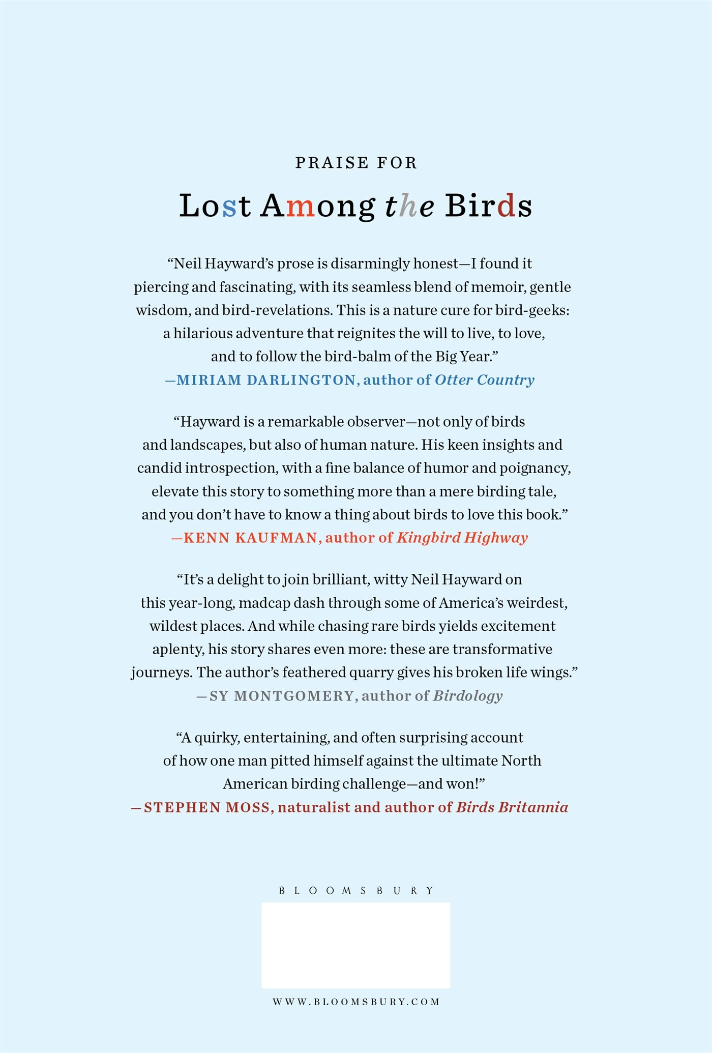 lost among the birds accidentally finding myself in one very big