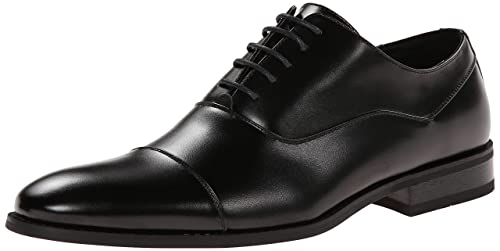 Unlisted by Kenneth Cole Men's Half Time, Black, 9 M US best men's dress shoes