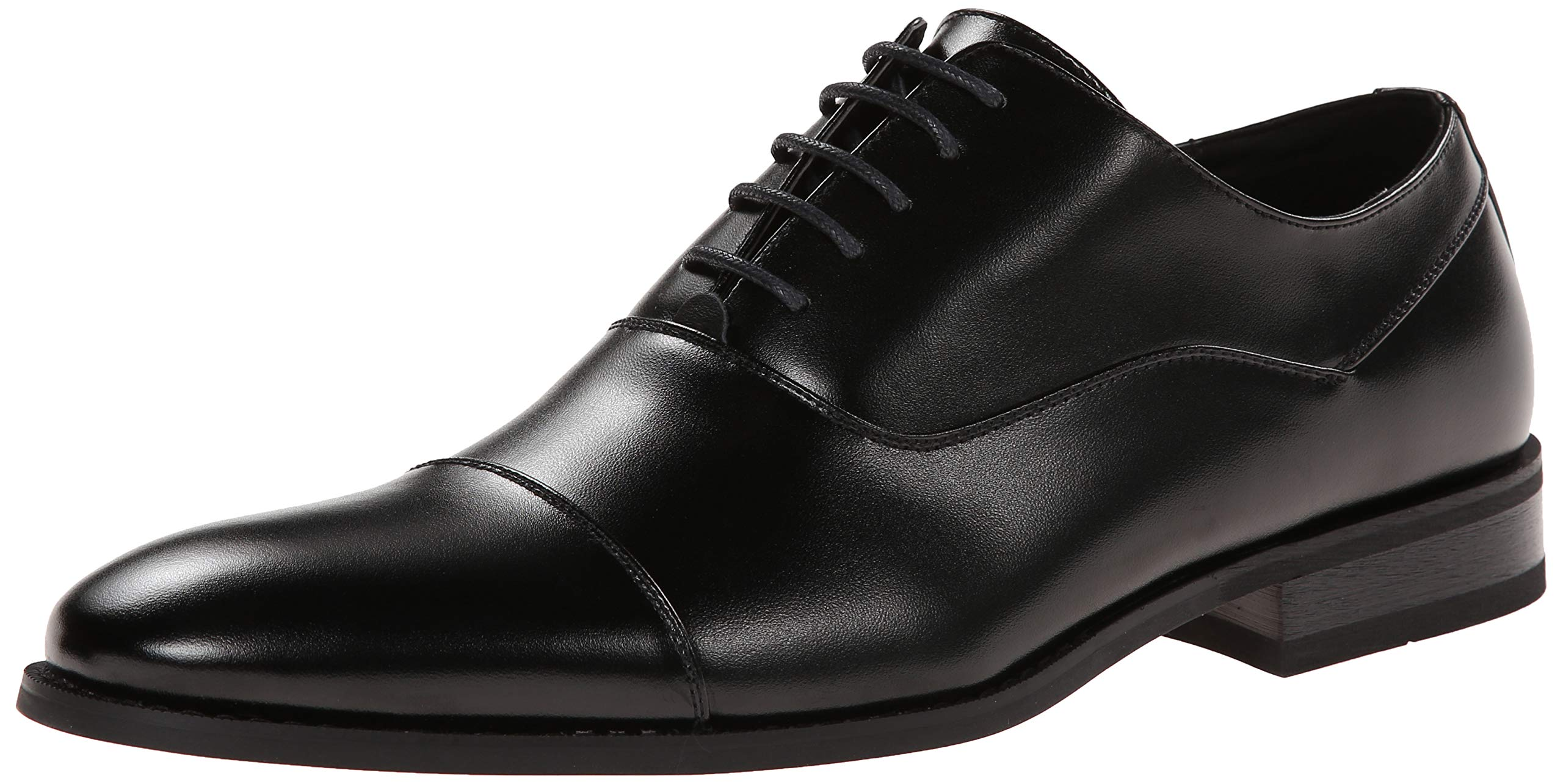 Unlisted by Kenneth Cole Men's Half Time Oxford, Black, 13 W US