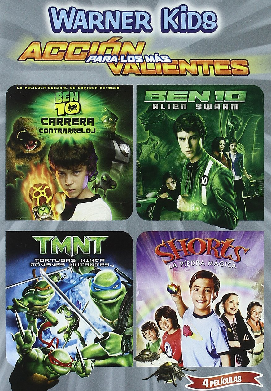 Ben Carrera + Alien Swarm + Tmnt + Shorts [DVD]: Amazon.es ...