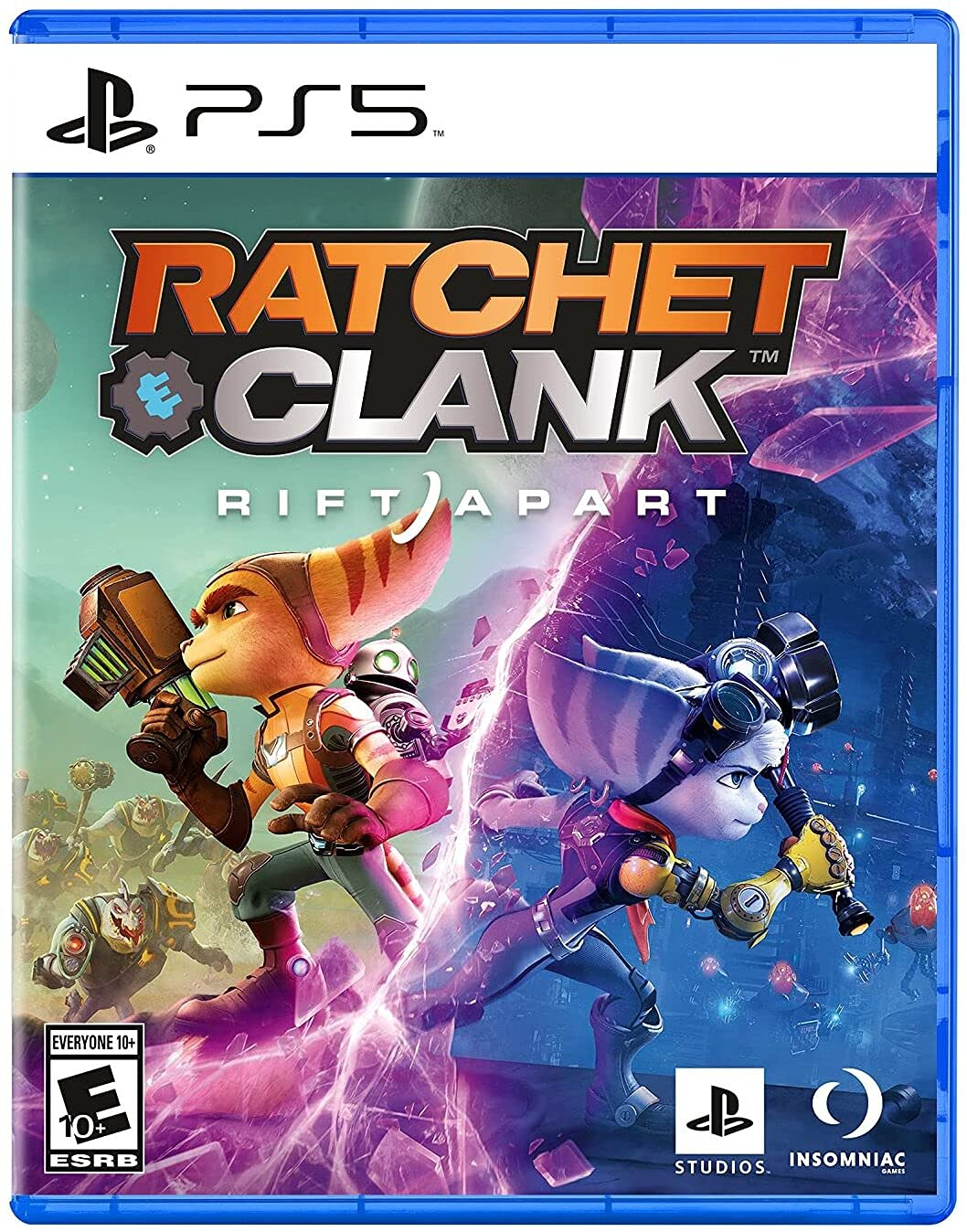 Poster. Ratchet and Clank: Rift Apart