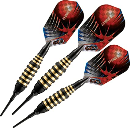 Viper Atomic Bee Soft Tip Darts Black 16 Grams Amazon Co Uk Sports Outdoors