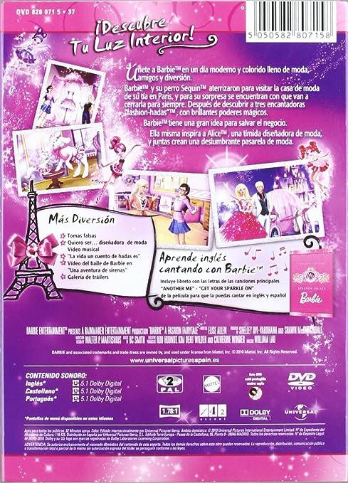 Barbie moda magica en paris (edicion especial) [DVD]: Amazon.es: Cine y Series TV