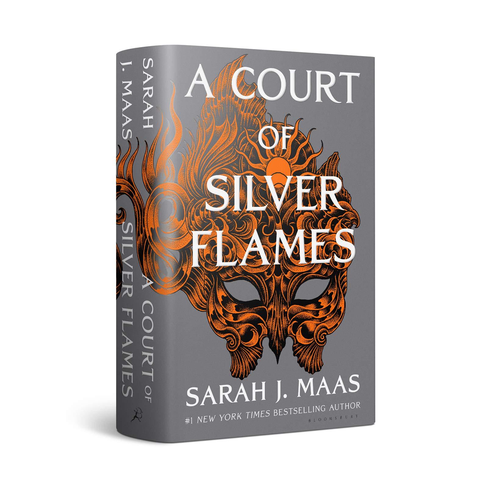 Silver Flames Earrings ACOSF, ACOTAR Inspired