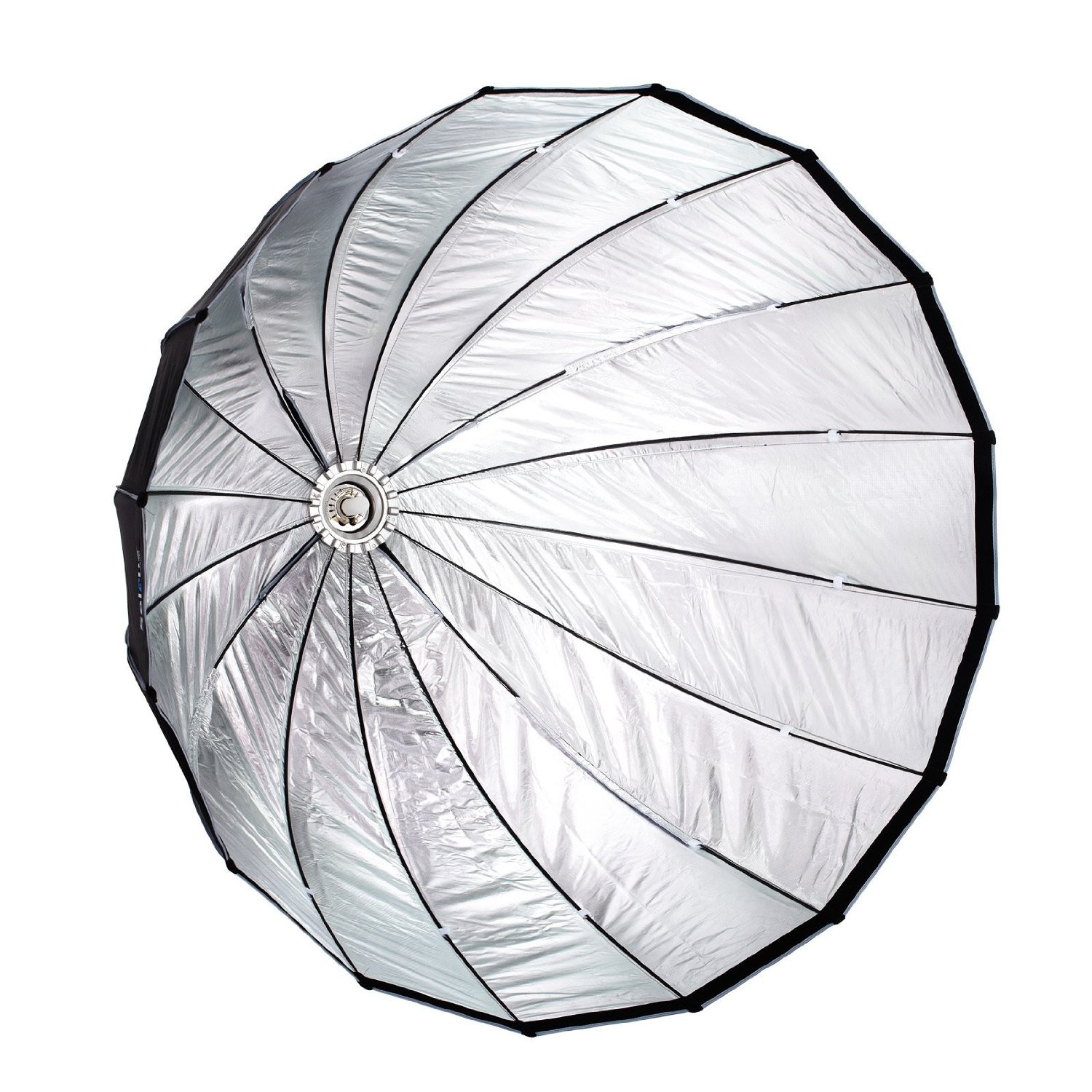 Selens Parabolic Softbox 75 inches / 190 Centimeters, Hexadecagon Deep Portable and Quick Folding Softbox Diffuser with Bowen Mounts for Studio Light and Speedlite Flash by Selens (Image #10)