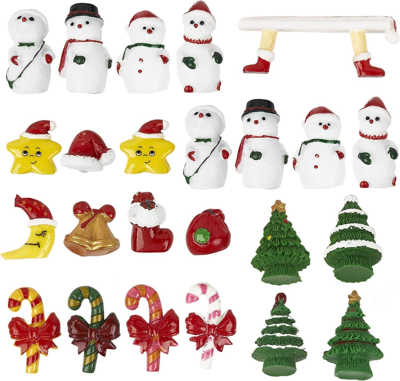 5x Weihnachten Schneemann Baumdekoration Figuren Hause Wand Weihnachtsd Super