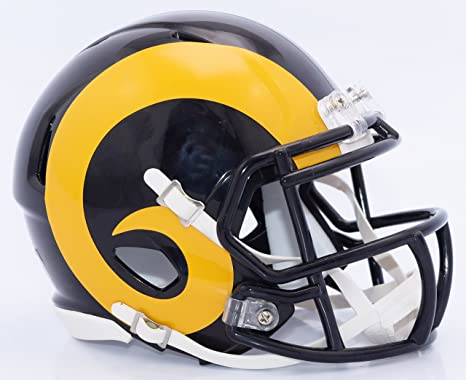 bf1fba51f Image Unavailable. Image not available for. Color  Los Angeles Rams Riddell  Speed Mini ...