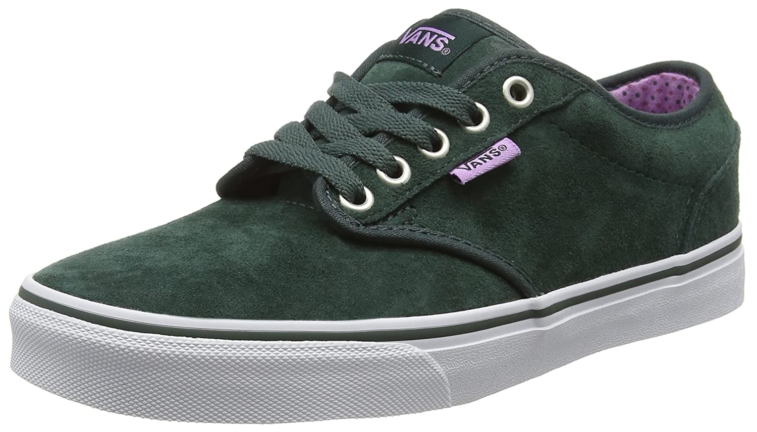 Vans Atwood, Zapatillas para Mujer 38.5 EU|Verde (Mte Green Gables/African Violet)