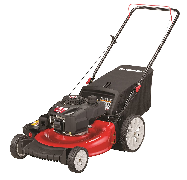 Amazon.com : Troy-Bilt TB120 159cc 21-Inch 3-in-1 High Wheel Push Lawn  Mower : Garden & Outdoor