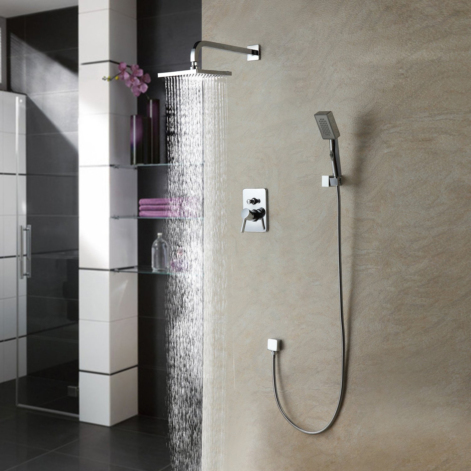 Lovely Wall Bar Combo Shower System