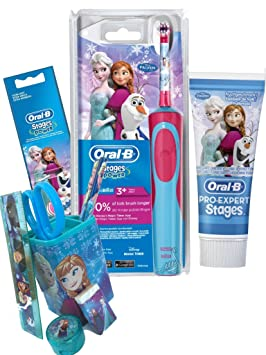 Kit Hygiene Dental de los niños oral b – Cepillo de dientes Stages Power niños la