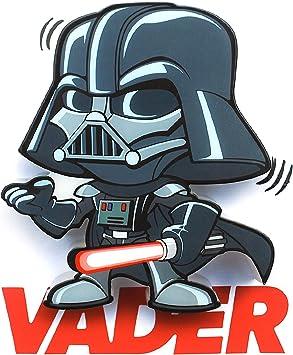 3d Light Fx Star Wars Darth Vader 3d Deco Mini Sized Led Wall Light Amazon Co Uk Toys Games