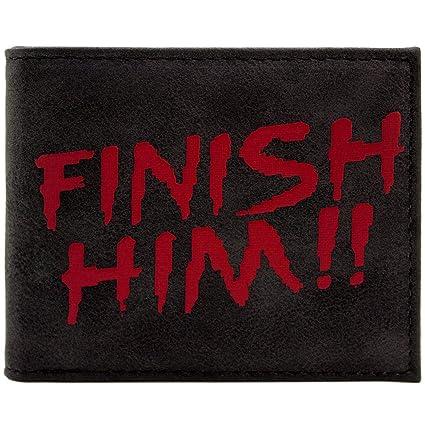 Cartera de Mortal Kombat Finish Him Fatality Move Raiden ...