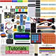 Freenove Ultimate Starter Kit for Raspberry Pi 4 B 3 B+, 434 Pages Detailed Tutorials, Python C Java, 223 Items, 57 Projects, Learn Electronics and Programming, Solderless Breadboard