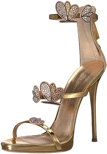 47a8f87992672 Amazon.com: Giuseppe Zanotti Women's E800127 Heeled Sandal: Shoes