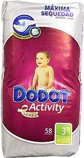 Dodot - Pañales para bebés Activity - Talla 3, 6-10 kg - 58