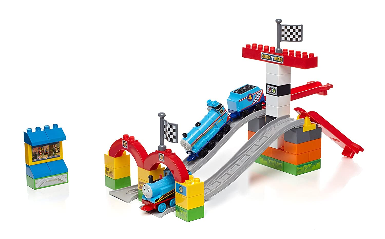 Thomas  Friends Mega BLOKS Thomas Railway Race Day