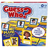 Hasbro Gaming Guess Who? Board Game with People and Pets, The Original Guessing Game for Kids Ages 6 and Up, Includes People