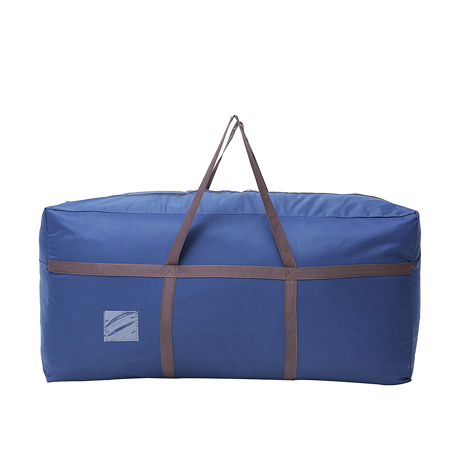3faeff5e2ae3 Large Blue Duffel Storage Bag - Premium-Quality Heavy Duty 600D Polyester  Oxford Cloth with Handles...